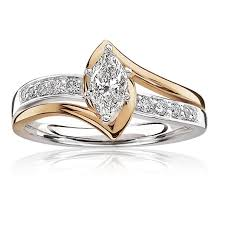 marquise diamond engagement ring marquise cut ctw diamond engagement ring 14k gold