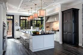 kitchen with large island tour this classically chic chef s kitchen hgtv s decorating