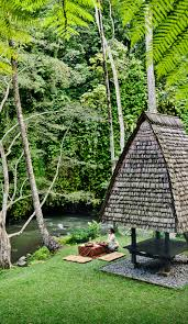 a romantic picnic by the river in como shambhala estate bali