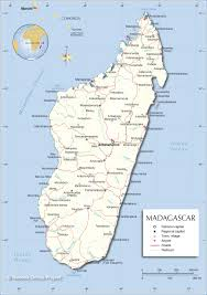 Interactive Map Of Africa by Political Map Of Madagascar Nations Online Project