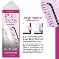amazon com 1 x bible index tabs office products