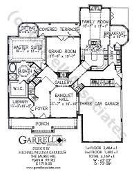 Colonial Style Floor Plans by Laurel Hill House Plan House Plans By Garrell Associates Inc