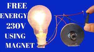 blue free light bulbs free energy light bulbs 230v for life time using magnet free