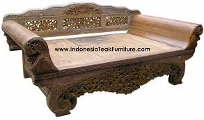 teak wood daybeds bali indonesia furniture u2013 bali crafts com