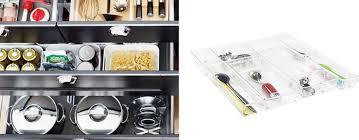 organisateur de tiroir cuisine organisation des tiroirs séparateurs bacs on range tout
