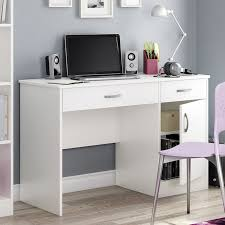 White Small Desks South Shore Axess Collection 35w In Small Desk White