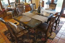 pine creek style old world charm my dining room table
