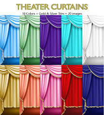 Gold And Blue Curtains Theater Curtains Drapes Gold U0026 Silver Trim Royal Blue Red