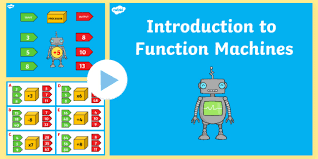 introduction to powerpoint 6 algebra introduction to function machines powerpoint