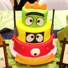 yo gabba gabba birthday cake3d cards 14 best baby bea s animals images on decorated
