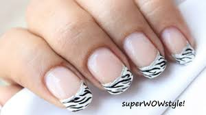 french tip manicure nail designs easy nail art in french mani tips