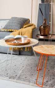 Esszimmerst Le Orange Beistelltisch Osb L Fluor Gelb Zuiver Sale Kaufen