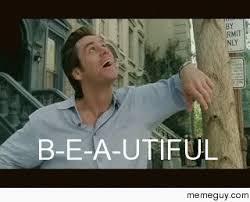 Jim Carrey Memes - jim carrey teaching kids how to spell the word b e a utiful since