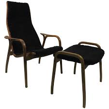 Who Invented The Swivel Chair by Scandinavian Modern Ystad Yngve Ekstrom Lamino Lounge Chair With