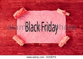 black friday pink sale black friday sale ad in clothing store display window usa stock