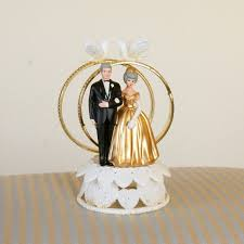 50th wedding anniversary cake toppers personalized 50th wedding anniversary cake topper allmadecine