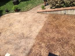 Flagstone Stamped Concrete Pictures by Patio Designs Pool Remodeling Wichita Stamped Concrete Dirt