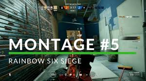 i can u0027t see rainbow six siege montage 5 youtube