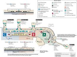 Washington Dca Airport Map by Iad Airport Map Iad Terminal Map