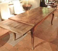 French Provincial Kitchen Table by French Provincial Cherrywood Farmhouse Extending Dining Table