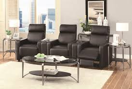 home theater recliner coaster toohey contemporary five piece reclining home theater