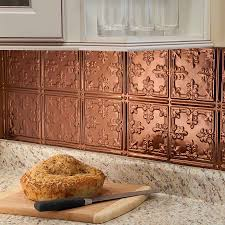 kitchen fasade wall panels copper backsplash fasade backsplash