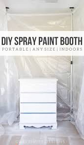 spray paint booth how to spray paint indoors diy spray paint booth craftivity