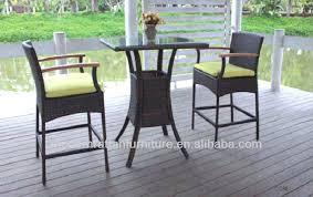 Outdoor Balcony Set by Balcony Height Patio Dining Sets Balcony Height Patio Furniture