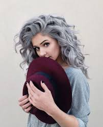 looking with grey hair best 25 grey curly hair ideas on pinterest why grey hair is