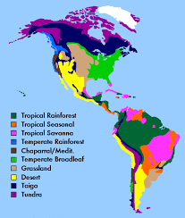 biomes map climate and biomes