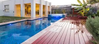 garden wood decks and pool landscaping with tub also backyard