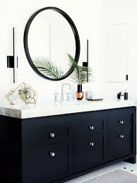 impressive design ideas black bathroom mirrors best 25 only on