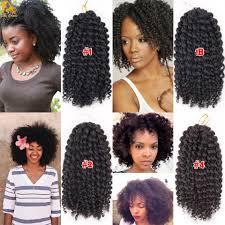 human curly hair for crotchet braiding 8inch curly crochet hair bohemian crochet braids curly braiding