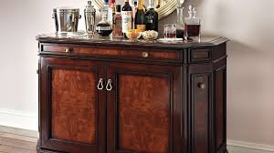 Glass Bar Cabinet Designs Funiture Sweet Wooden Home Bar Cabinet Designs With Carved Accent