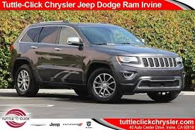 jeep grand cherokee limited 2014 used 2014 jeep grand cherokee limited for sale irvine ca stock