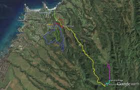 Hiking Maps Kapalua Area Hiking Trails
