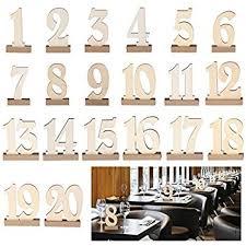 Vintage Table Number Holders Amazon Com Ginger Ray Vintage Affair Kraft Wedding Table Numbers