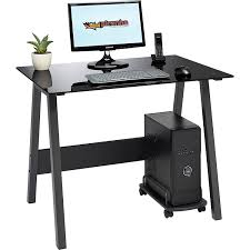Computer Glass Desks For Home Black Computer Desks Corner Desk For Home Office Phenomenal