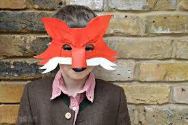 Fantastic Fox Halloween Costume Fantastic Fox Diy Mask Book Party Delights Blog