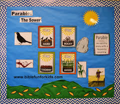 bible fun for kids cathy u0027s corner parable of the sower