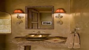 rustic bathroom design christmas lights decoration