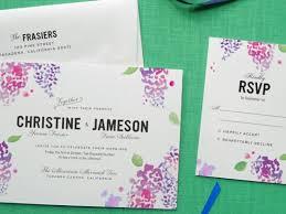 design your wedding invitations watercolor creative