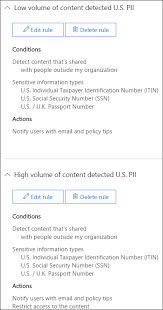create a dlp policy from a template office 365