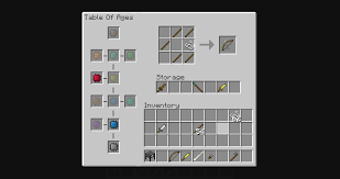 Minecraft Crafting Table Guide Age Of Weapons Minecraft Mod