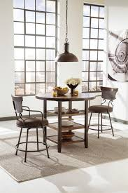 counter high dining room sets moriann counter height dining table by signature design