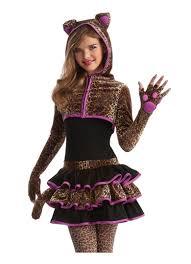 Tween Pirate Halloween Costumes Girls Leopard Kitty Cat Animal Tween Kids Halloween Costume