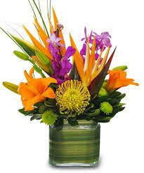 tropical floral arrangements idea u2013 home design and decor
