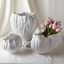 Large White Vases Vases U0026 Centerpieces U2013 Burke Decor