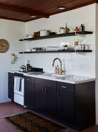 black kitchen cabinets home depot kitchen of the week a brightly colored and cost conscious