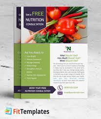 nutrition brochure template nutrition flyer fieldstation co